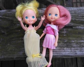 1984 Rose Petal Place Dolls-Set of 2