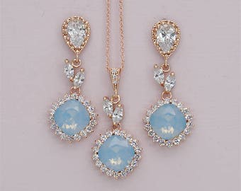 Blue wedding jewelry Etsy