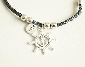 Sailor gifts, Sailor bracelet, Sailing Bracelet, Sailing Gift, Sailor Jewelry, Mens, Boys, Boyfriend, Brother, Friend, Birthday, Christmas
