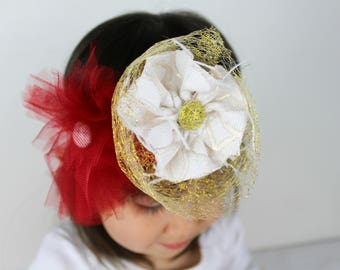 Red/Gold Headband
