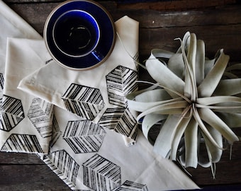 TEXTILES WORKSHOP, 7/14: Block Printing Table Linens at House Sparrow Fine Nesting in Tulsa