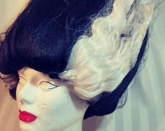 Custom Bride Of Frankenstein Wig with free shipping