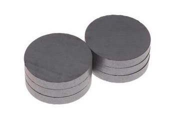 Super Strong CERAMIC MAGNETS - 1.25 inch. - Free shipping!