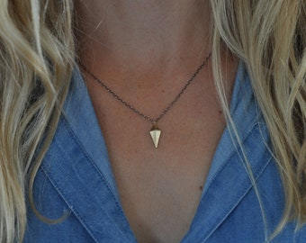 Love Warrior Necklace Handmade by Aloe and Elm