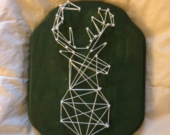 Deer Nail String Art