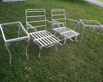 Wrought Iron Patio Furniture Etsy . Cast ...