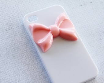 iPhone 6s Cases for Girls Adorabe iPhone  Case arge Pink Ribbon Bow iPhone Case iPhone 7 White Case iPhone  White Cover Smartphone