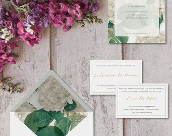 Printable invitations for marriages-model ENNA