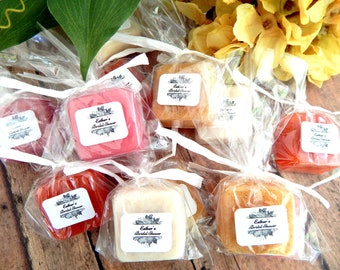 Fall Bridal Shower Favors Soap Favors Autumn Bridal Shower Favor Bridal Party Favors Personalized Wedding Favors Fall In Love Autumn Leaves