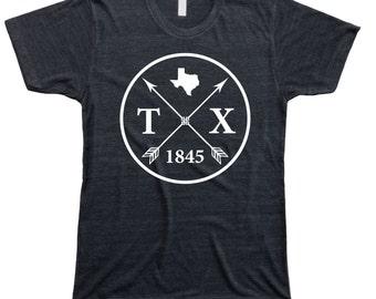 Homeland Tees Men's Texas Arrow T-Shirt