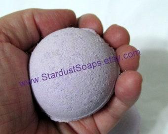 Lilac Handmade Bath Bomb Fizzy wt. 82 g. net