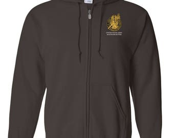 US Army Master Recruiter Embroidered Hooded Sweatshirt w/ Zipper-7760