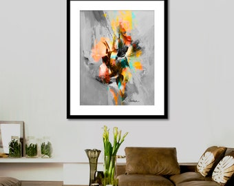 Abstract picture Printable Art Abstract Painting, Watercolor Wall Art Prints, Modern Art Wall Decor, INSTANT DOWNLOAD.