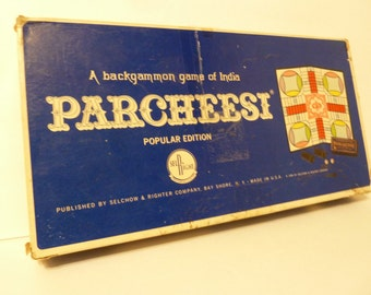 Vintage 1964 Parcheesi Game
