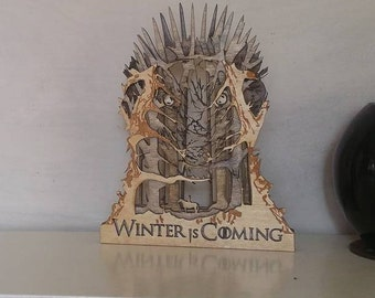 Winter is Coming Statue