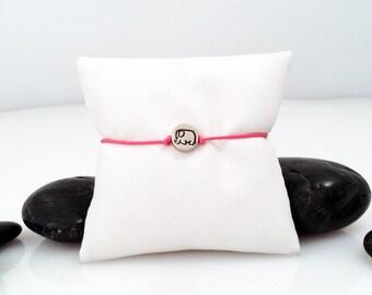 Elephant Jewelry, Elephant, Friendship Bracelet, Elephant Charm, Yoga Bracelet, Dainty Jewelry, Memory Elephant, Tiny Elephant