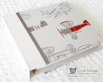 0 to 12 months Baby Memory Book - Boys Planes