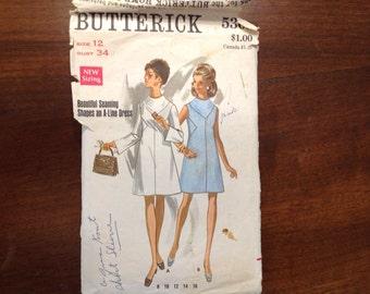 Like  Bill Blass Pattern Vogue Americana 2055--Butterick 5301