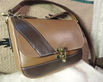 Handmade Leather Purse Original design American Made