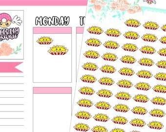 Kawaii/Cute Nachos Stickers (10)