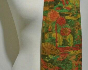 Vintage Kimono Silk Scarf Obi Sash