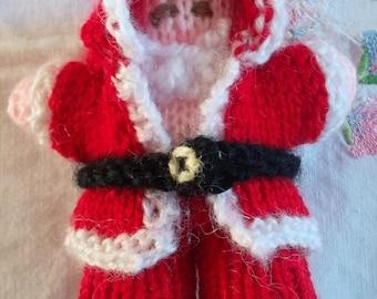 Mini Santa red and white