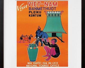 Vietnam wall art | Etsy
