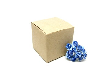 "Kraft Boxes, Kraft Gift Box 3x3x3"" Set of 10"