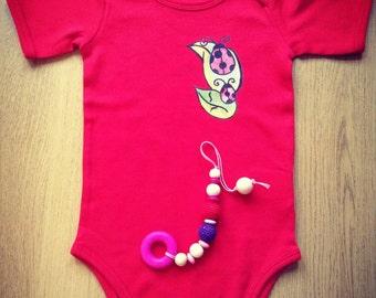 Baby Cotton Bodysuit 12-24 months