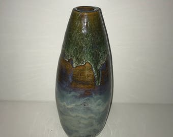 Egg Shaped Ceramic Vase