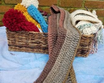 Handmade Chunky Crochet Scarf