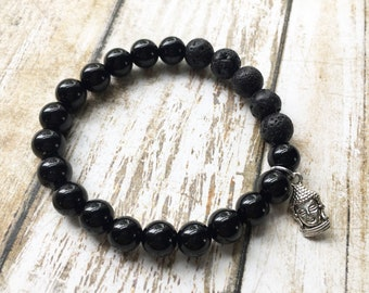 20% OFF Onyx Essential Oil Diffuser Bracelet