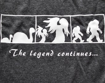 cryptids shirt parents+legacy the legend continues
