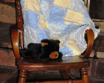 Flannel baby rag Quilt