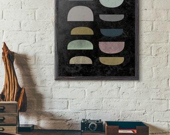 Geometric Art, Instant Download Art, Abstract Art Print, Modern Art Printable, Scandinavian Art Printable, Printable Poster, D031
