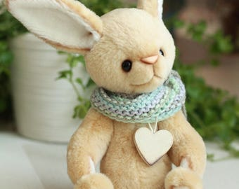 Artist Teddy rabbit Stefan. 10.4 inches