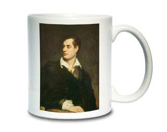 Coffee Mug; Lord Byron By Thomas Phillips