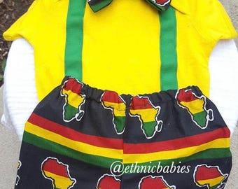 Babyboy African shorts and bow tie onesie/kente/African babyboy clothes/babyset/ ankara pants/Newborn clothes/African clothing/Ankara shorts