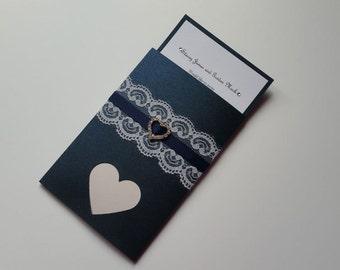 Caelan Collection - wallet style wedding invite