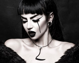 Reaper-Kette in schwarz