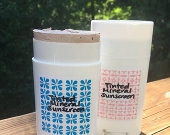 Mineral Sunscreen, Tinted