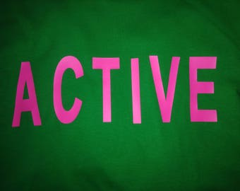 Pink and Green Active