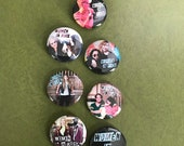 Women in Rock Button Set...
