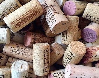 100 Wine Corks - Used