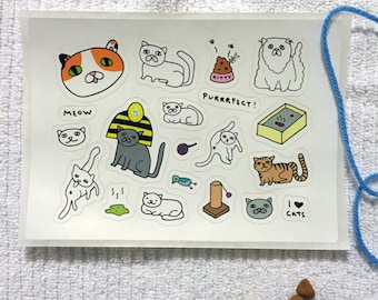 CAT STICKERS!!!