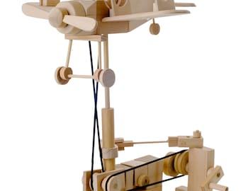 BB Wooden Automata - Bi Plane
