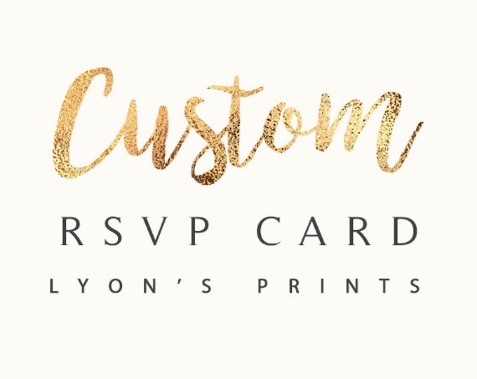 Add on_ Matching RSVP card