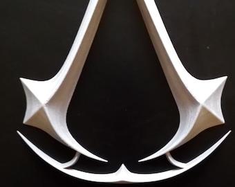 Assassin's Creed 3D printing logo