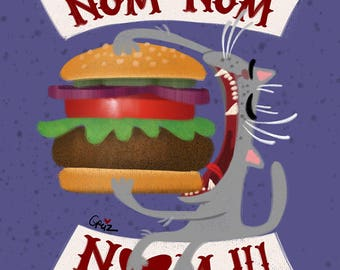 NOM NOM Burger