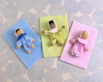 Baby Dollhouse Dolls